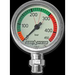 Pressure Gauge 450 bar + Swivel