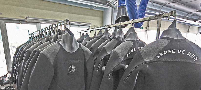 DiveSystem for Militaries and Special Forces: Neoprene Dry Suits