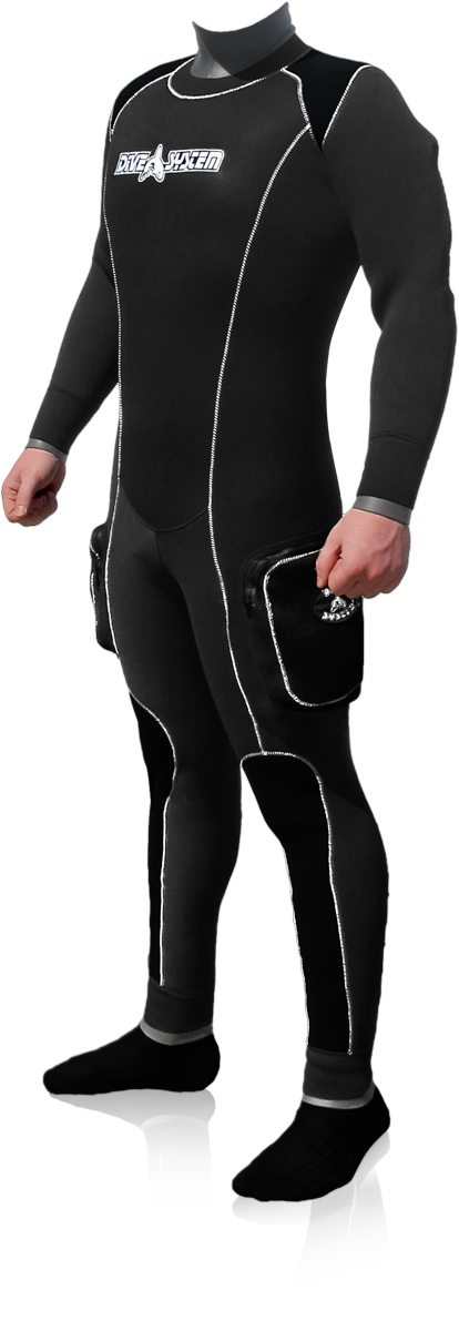 Black Ice Semi-dry Suit