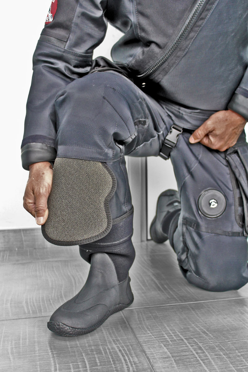 Removable Kevlar Knee Pad