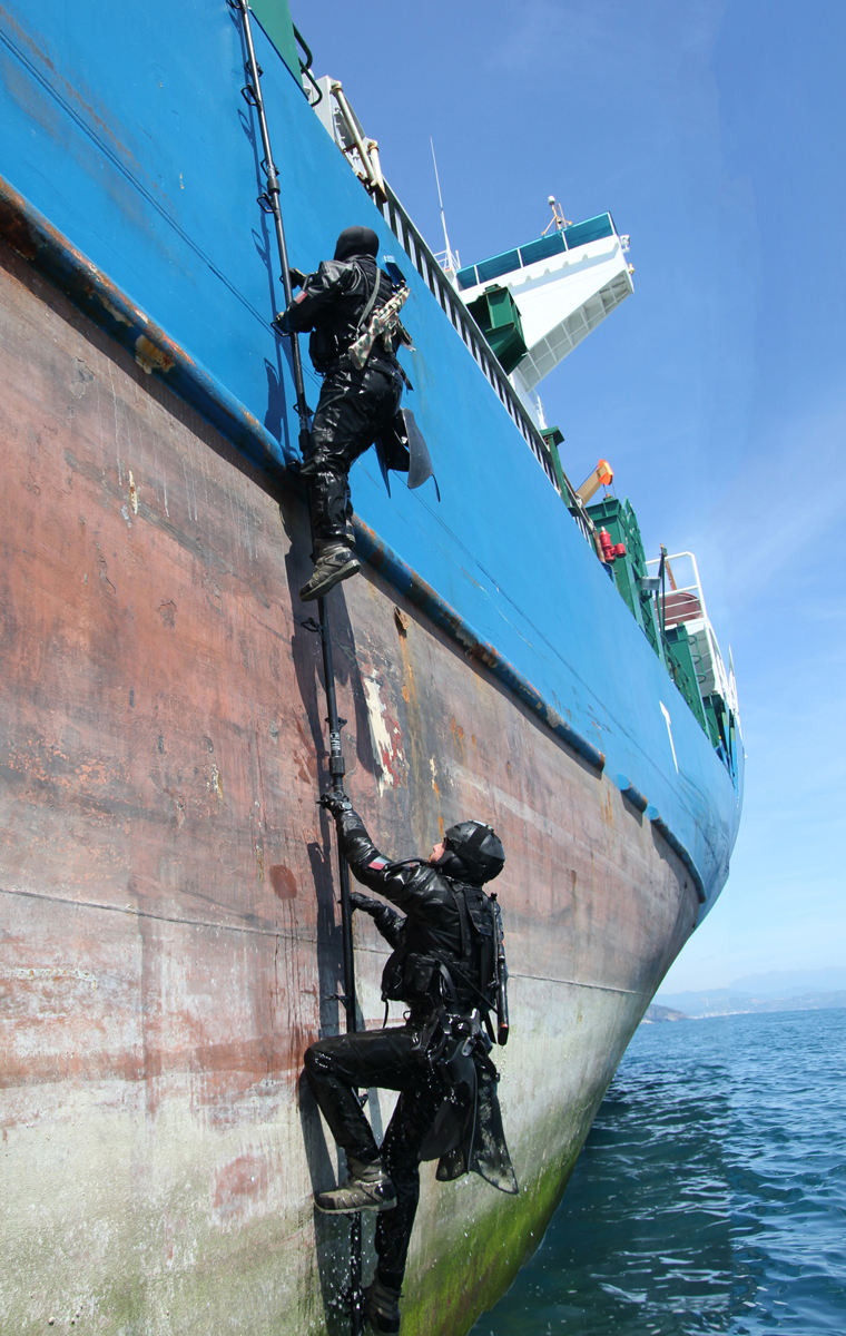 Solo Shipboarding NATO