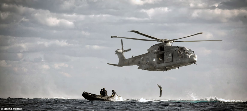 DiveSystem for Militaries and Special Forces: Italian Navy Spag in action