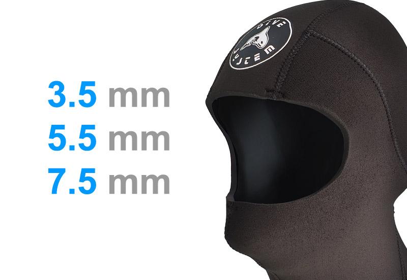 Cappuccio 4S Double-Face preformatura per il mento