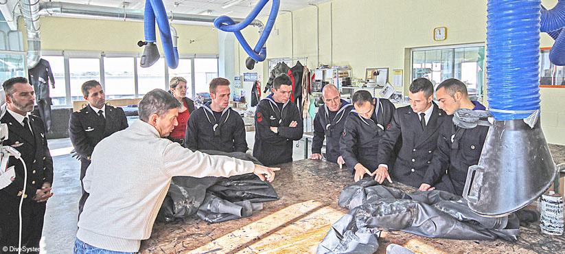 DiveSystem Company: Italian Navy visiting DiveSystem