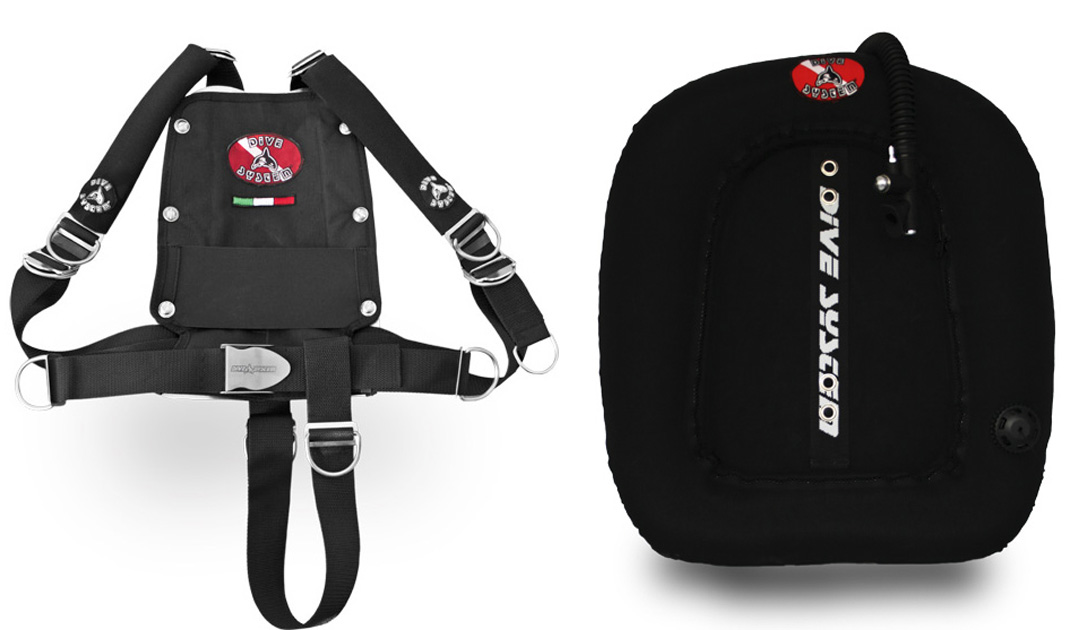 x3m wing style bcd for double tank divesystem
